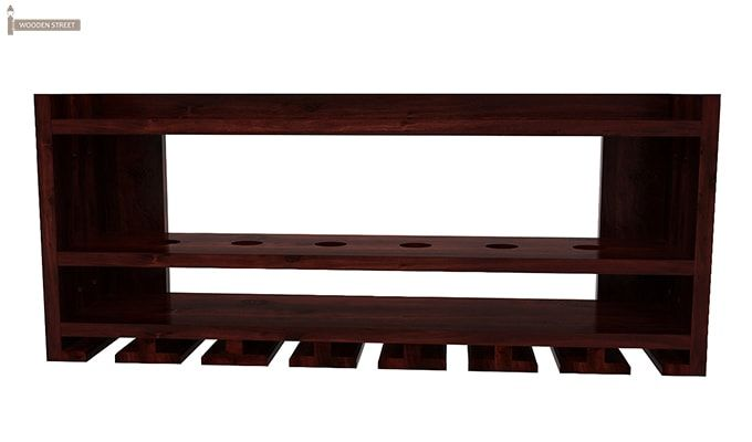 Elanor Wine Rack (Mahogany Finish)-3