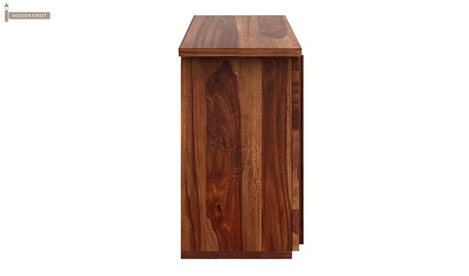 Hansvon Wine Rack (Teak Finish)-8