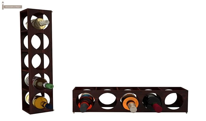 Osborn Wine Rack (Mahogany Finish)-5
