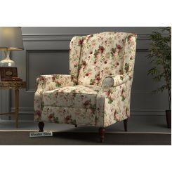 Botox Wingback Chair (Cream Blossom)
