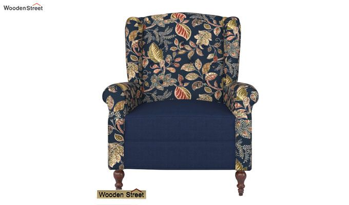 Botox Lounge Chair (Indigo Ink, Dusky Leaf)-2