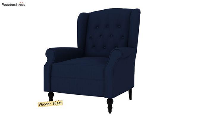 Botox Wingback Chair (Indigo Ink)-2