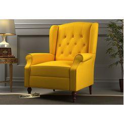 Botox Wingback Chair (Yellow Blush)