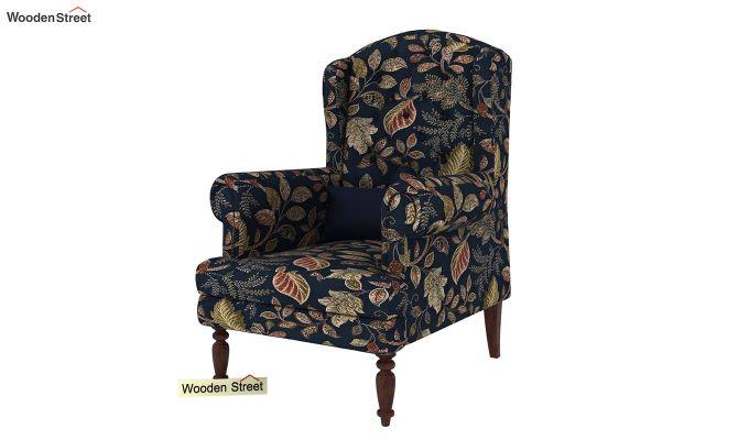 Danon Wingback Chair (Dusky Leaf)-2