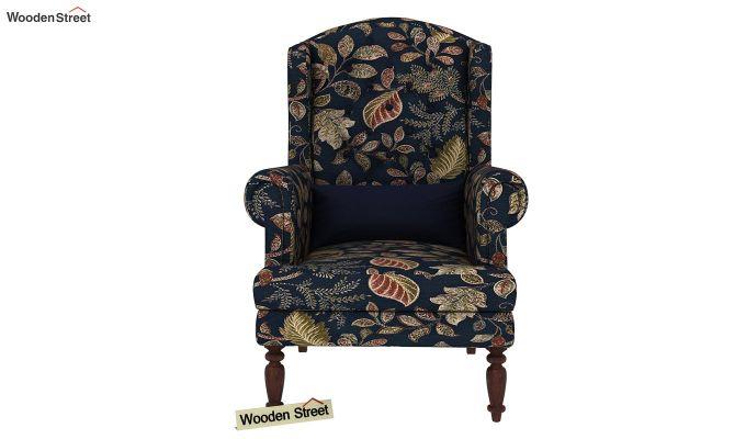 Danon Wingback Chair (Dusky Leaf)-3