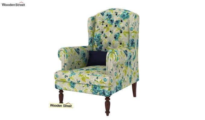Danon Lounge Chair (Teal Tulip)-2
