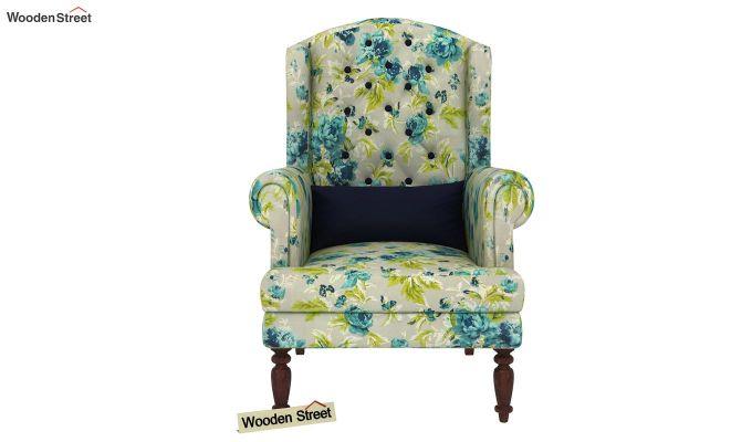 Danon Lounge Chair (Teal Tulip)-3