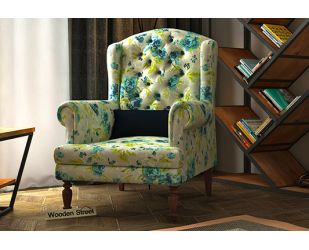 Danon Lounge Chair (Teal Tulip)