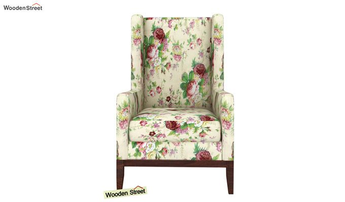 Joan Lounge Chair (Cream Blossom)-3