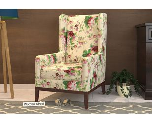 Joan Lounge Chair (Cream Blossom)