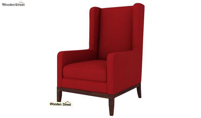 Joan Wingback Chair (Dusky Rose)-2