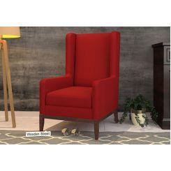 Joan Wingback Chair (Dusky Rose)