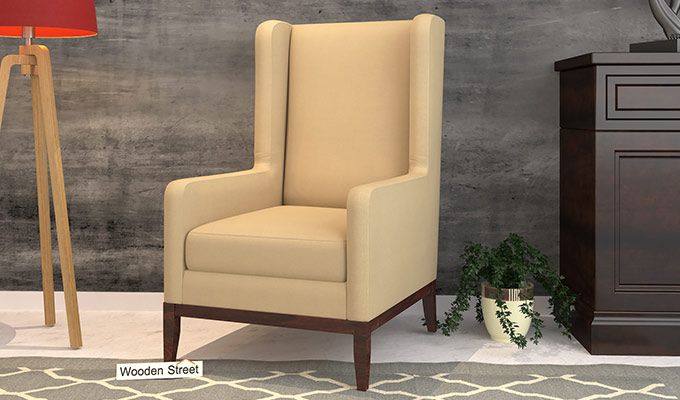 Joan Wingback Chair (Irish Cream)-1