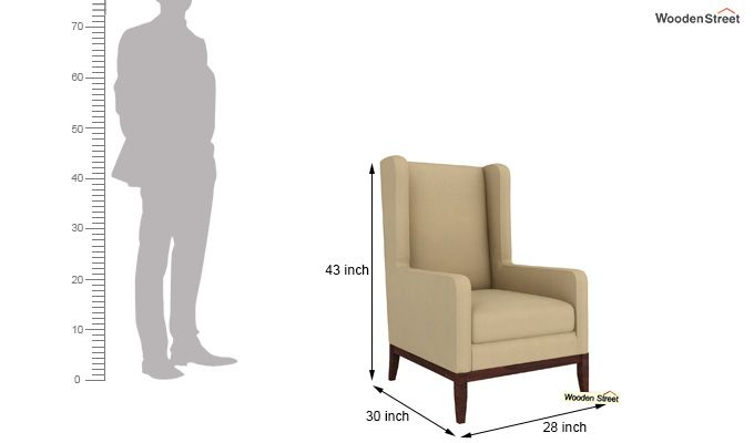 Joan Wingback Chair (Irish Cream)-4