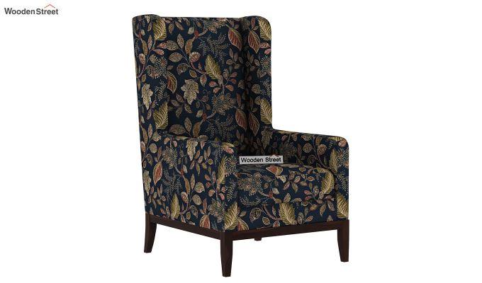 Joan Wingback Chair (Dusky Leaf)-2