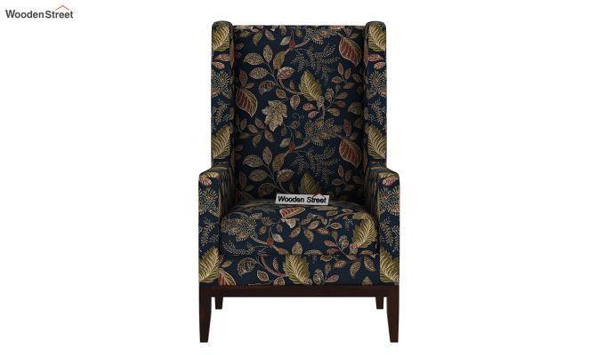 Joan Wingback Chair (Dusky Leaf)-3
