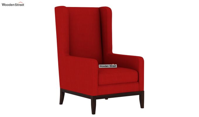 Joan Wingback Chair (Dusky Rose)-2