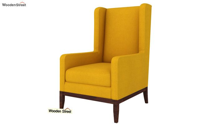 Joan Wingback Chair (Yellow Blush)-2