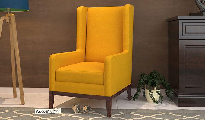 Joan Wingback Chair (Yellow Blush)-1