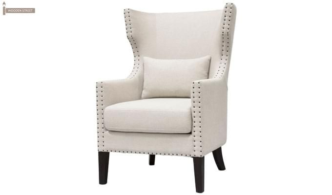 Taffy Wing Chair (White)-2