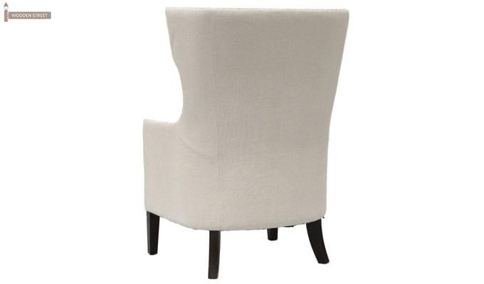 Taffy Wing Chair (White)-4