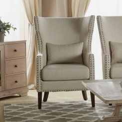 Taffy Wing Chair (White)