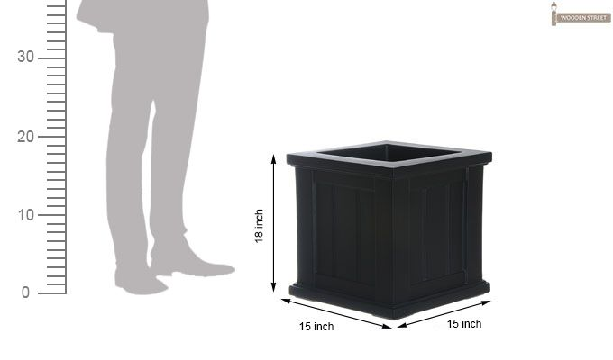 Anna Planter Box (Black Finish)-2