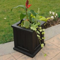 Anna Planter Box (Black Finish)