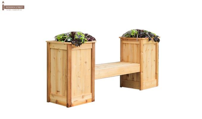 Avery Planter Bench (Natural Finish)-2
