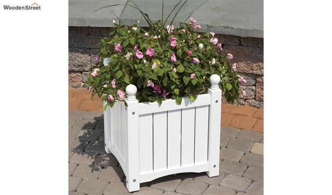 Caden Planter Box (White Finish)-1