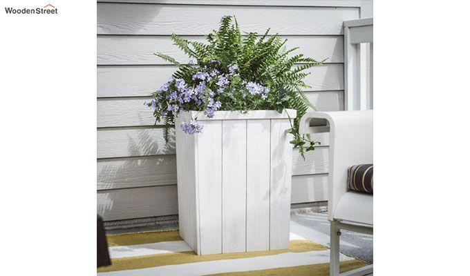 Ella Planter Box (White Finish)-1