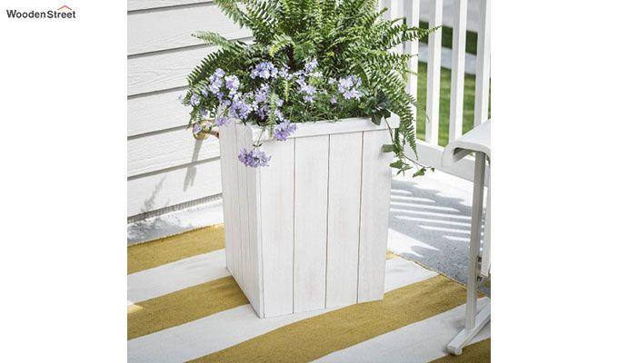 Ella Planter Box (White Finish)-2