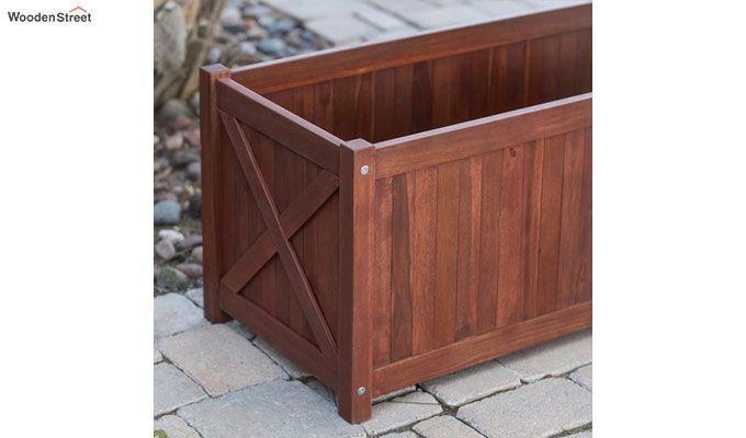 Fern Planter Box (Honey Finish)-2