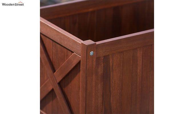 Fern Planter Box (Honey Finish)-3