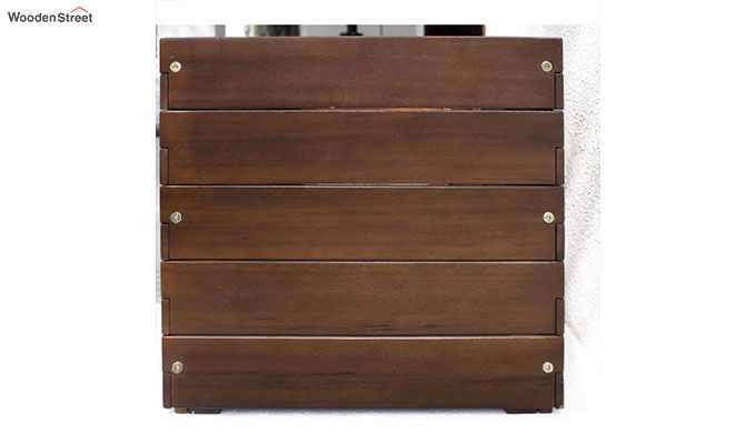 Mia Rectangle Planter Box (walnut Finish)-3