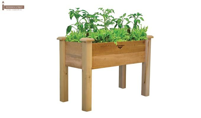 Mila Planter Box (Natural Finish)-1