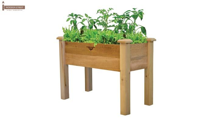 Mila Planter Box (Natural Finish)-2