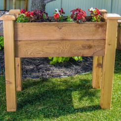 Mila Planter Box (Natural Finish)
