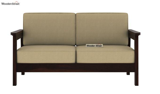 Buy Conan 2 Seater Wooden Sofa Online In India Wooden Street