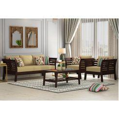 Darwin Wooden Sofa 3+1+1 Set