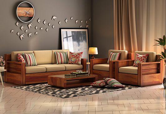 Wooden sofa 3 2 Mumbai