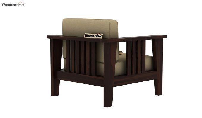Mcleod Wooden Sofa 3+1+1 Set (Walnut Finish)-5