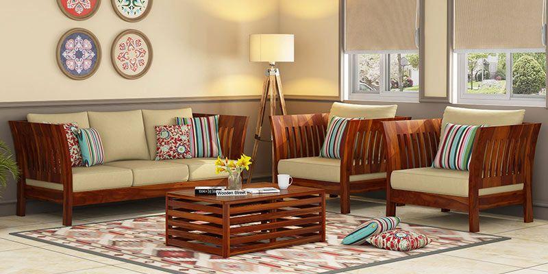 Wooden Sofa Set Online In India