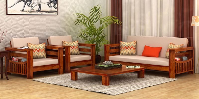 Teak Wood Sofa Set Images