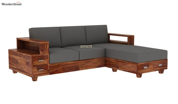 Solace L-Shaped Wooden Sofa-2