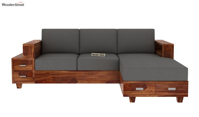 Solace L-Shaped Wooden Sofa-3
