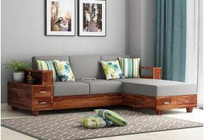 L Shaped Sofa: Buy L Shaped sofa set Online upto 55% Discount