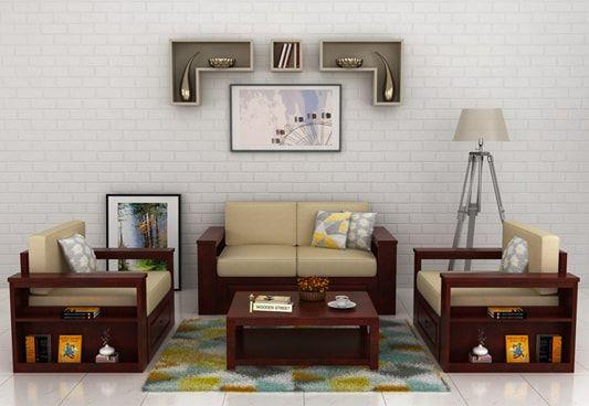 Wendel 1 Seater Sofa Set With Storage