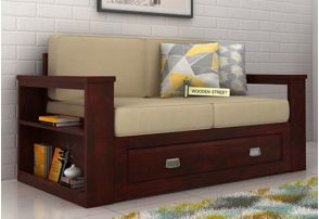 Two Seater Sofa With Storage Online In India