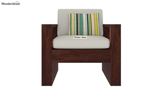 Winster Wooden Sofa 3+1+1 Sets (Walnut Finish)-3